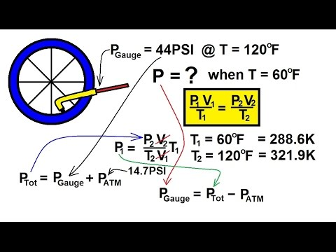 Physics - Thermodynamics: States: (6.5 of 10) Ideal Gas Equation: Example 1