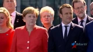 Trump urge a aliados de la OTAN a cumplir sus obligaciones financieras