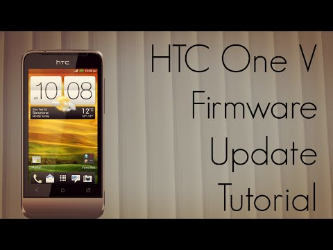 HTC One V Firmware Update Tutorial - System Optimization Upgrade - PhoneRadar