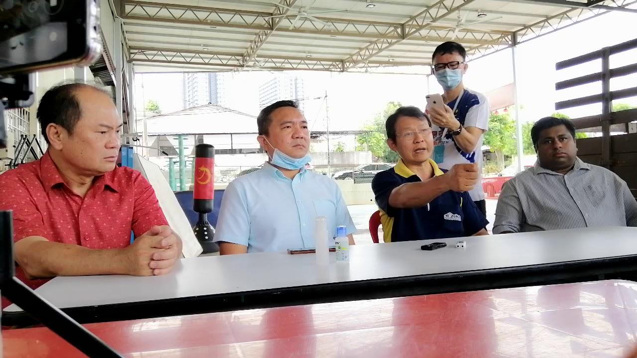 白沙罗新村管委会主席陈国光叙述遭殴打经过