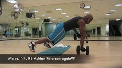Intense Workout - Dumbbell Push-Up Row by Mr. Go-in