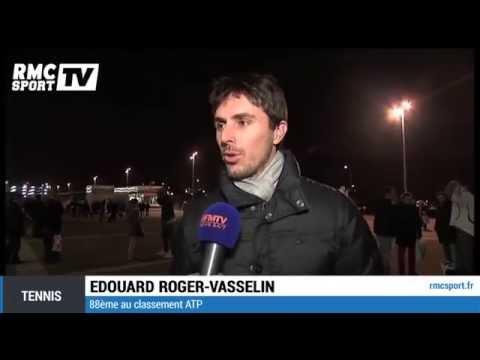 """Tennis / Roger-Vasselin : """"Wawrinka a été énorme"""" 21/11"""