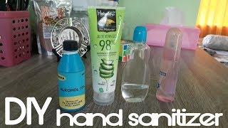 Diy hand sanitizer | cara mudah & cepat membuat home made
