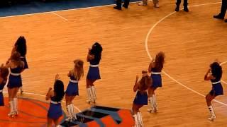 New York Knicks Cheerleaders (Jennifer Lopez - On The Floor ft. Pitbull)