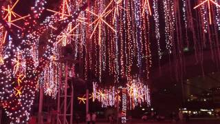 2015 Holiday Light Show at the Ayala Triangle Park in Makati City