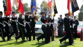 Marching In IAFF FFFM Sept 2012 in HD