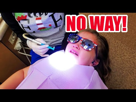 Extreme DENTIST Anxiety | Taking SIX Kids to the Dentist #seekyourtruth