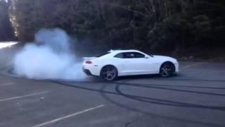 2014 Camaro SS burnouts