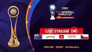 Australia v Czech Republic – U-23 Baseball World Cup 2018