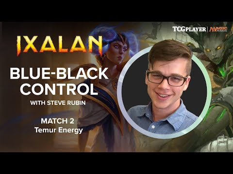[MTG] Blue-Black Control | Match 2 VS Temur Energy