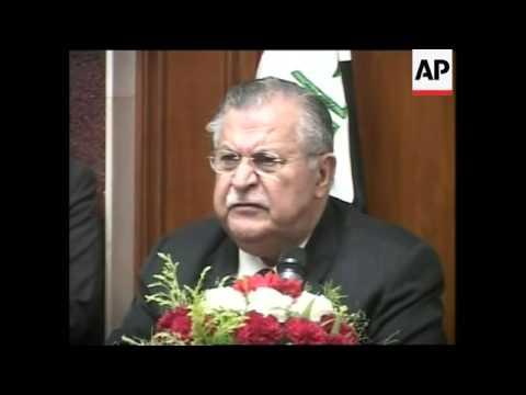 WRAP UK PM in Iraq, pressers with Maliki, Talabani ADDS Blair sndbte