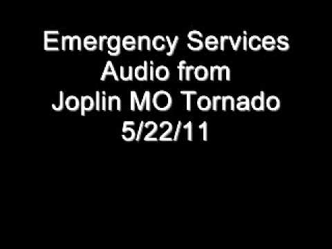 Joplin MO Emergency Services Audio from Tornado on 5/22/11