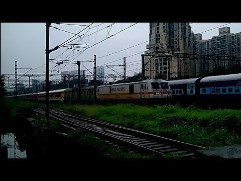 First LHB Run | 22127 LTT-KZJ Anandwan Super Fast Express Lead With TKD WAP7|