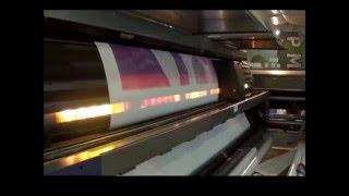 Широкоформатная печать баннеров(Широкоформатная печать двухстороннего баннера на пятиметровом широкоформатном принтере Scitex., 2016-04-05T10:45:27.000Z)