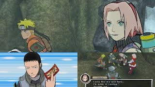 Naruto Shippuden Dragon Blade Chronicles Walkthrough Part 4 - Team 7 saves Shikamaru 1080p 60 FPS