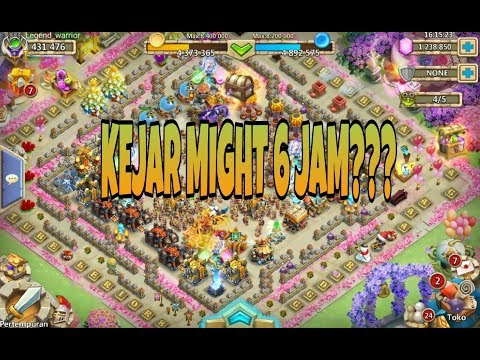 BOST MIGHT ????? | KONFLIK KASTIL | CASTLE CLASH ID