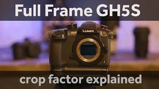 Turn the GH5S into a full frame camera