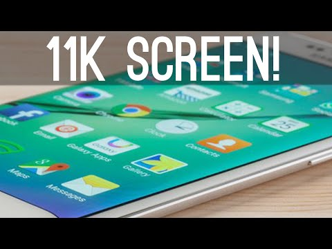 Samsung is Working on an 11k Mobile Screen! (2250ppi)