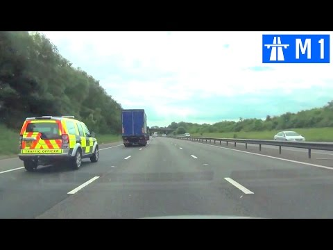 Driving in the UK - M1 Motorway (Part 1)