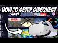 How To Setup SideQuest On Oculus Quest 2 🎮| Sideload Games on Quest 2 | Sideload Apps on  Quest 2