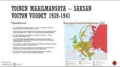 Toinen maailmansota - Saksan voiton vuodet 1939-1941