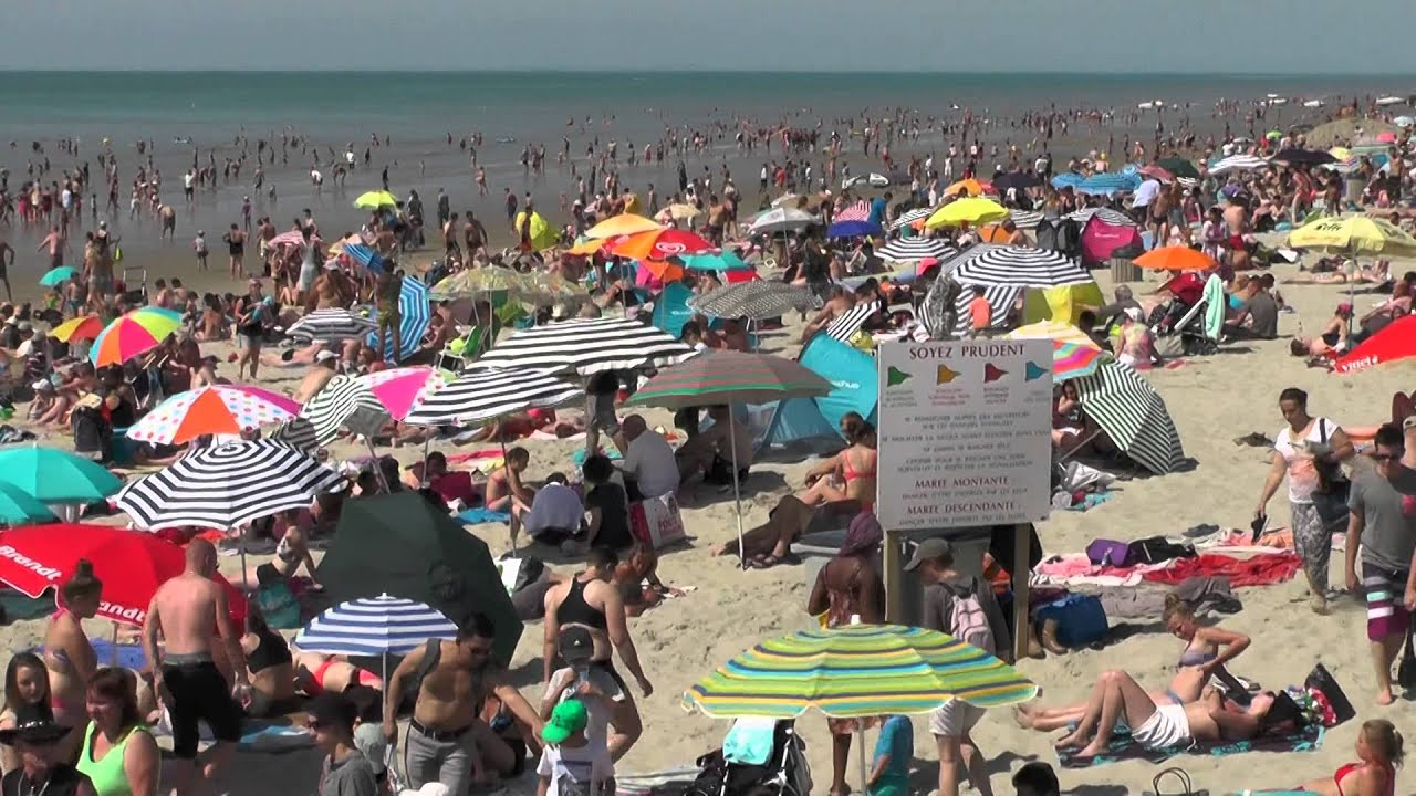 Plage de fort mahon plages du nord youtube for Appart hotel fort mahon