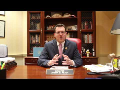 Maryland Senator Justin Ready - Annapolis Update (1/16/17)