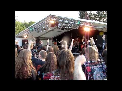 Gospel Of The Horns - Death Sentence (live @ Heavy Metal Overkill Festival 2012 in Großerlach)