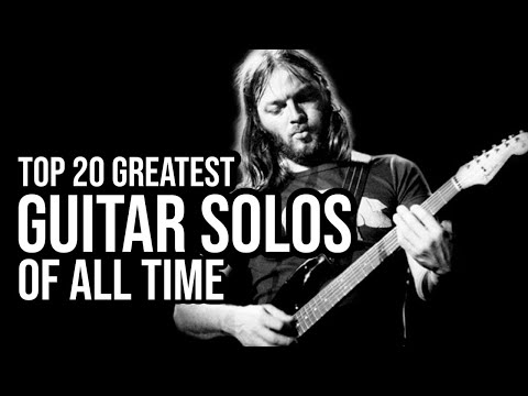 The Man Cave - TOP 20 ROCK GUITAR SOLOS OF ALL TIME?