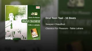 Drut Teen Taal - 16 Beats
