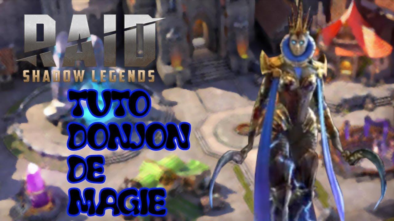 Tuto donjon de Magie / RAID :Shadow legends