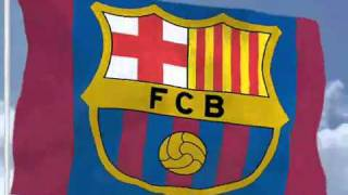 The official barcelona song or fc anthem http://www.barcelonafcblog.com