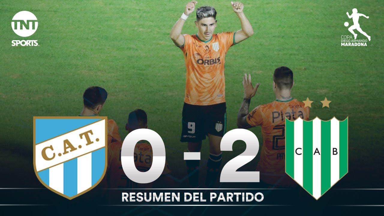Resumen de Atlético Tucumán vs Banfield (0-2) | Fecha 1 Grupo A - Fase Campeón Copa Diego Maradona