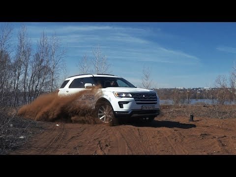 Test drive Ford Explorer V6 3.5 Cyclone (249 hp) AT6 SelectShift