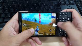 Test Game PUBG Mobile On BlackBerry KEY 2