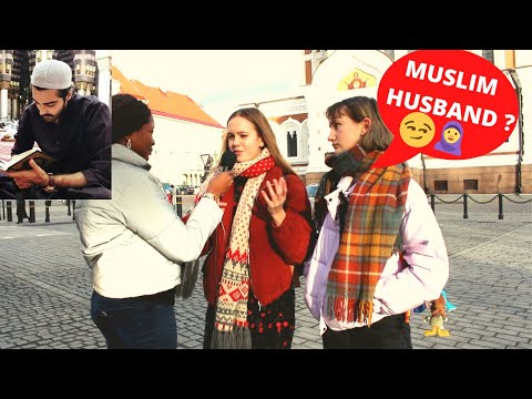 European Girls Reaction : Would You MARRY A MUSLIM? (Shocking Responses!)