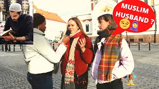 Asking EUROPEAN Girls  Would You MARRY a MUSLIM? (Social Experiment )