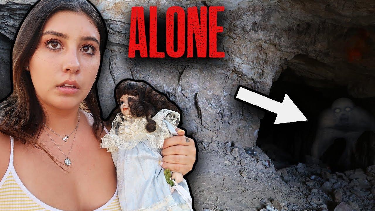 Exploring The Skinwalker Caves ALONE | VLOG