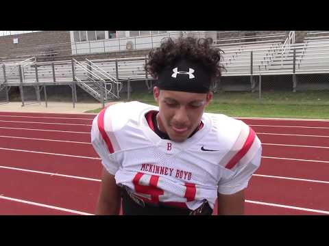 Fast Forward & Rewind: McKinney Boyd Star Sophomore Safety Plae Wyatt