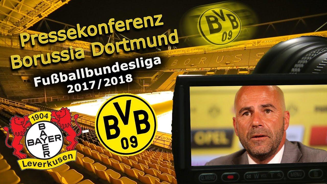 Bayer 04 Leverkusen - Borussia Dortmund: Pk mit Peter Bosz