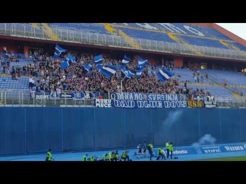 Atmosfera na zadnjem derbiju sezone, Boysi i Armada
