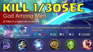 GOD AMONG MEN 32 0 3 Karina - Build Item Warpath - Mobile Legend - Full Gameplay