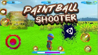 Unity3D Third Person Painтball Shooter Game For Mobile