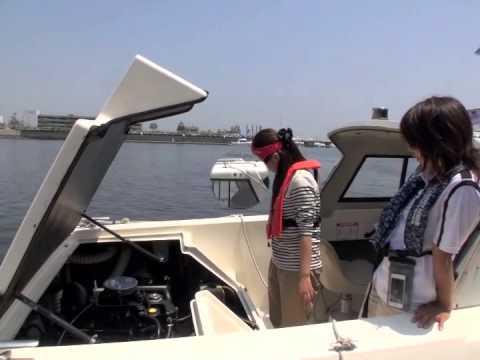 アングラーズアイドル晴山由梨がボート免許に挑戦