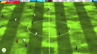 Real Madrid - Valencia Fifa Manager 12 HD Gameplay 1080p