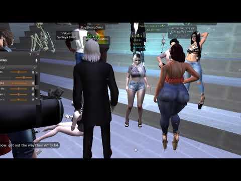 "Second Life Trolling "" WorldStar fight"