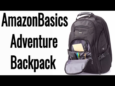 Gadget Backpack | AmazonBasics Adventure Backpack Unboxing/Review