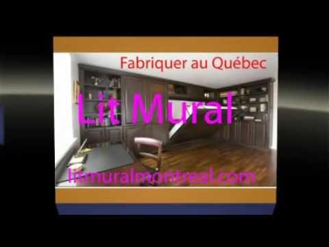 lit mural montreal youtube. Black Bedroom Furniture Sets. Home Design Ideas