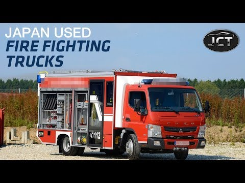 Japan Used Fire Fighting Truck On Sale