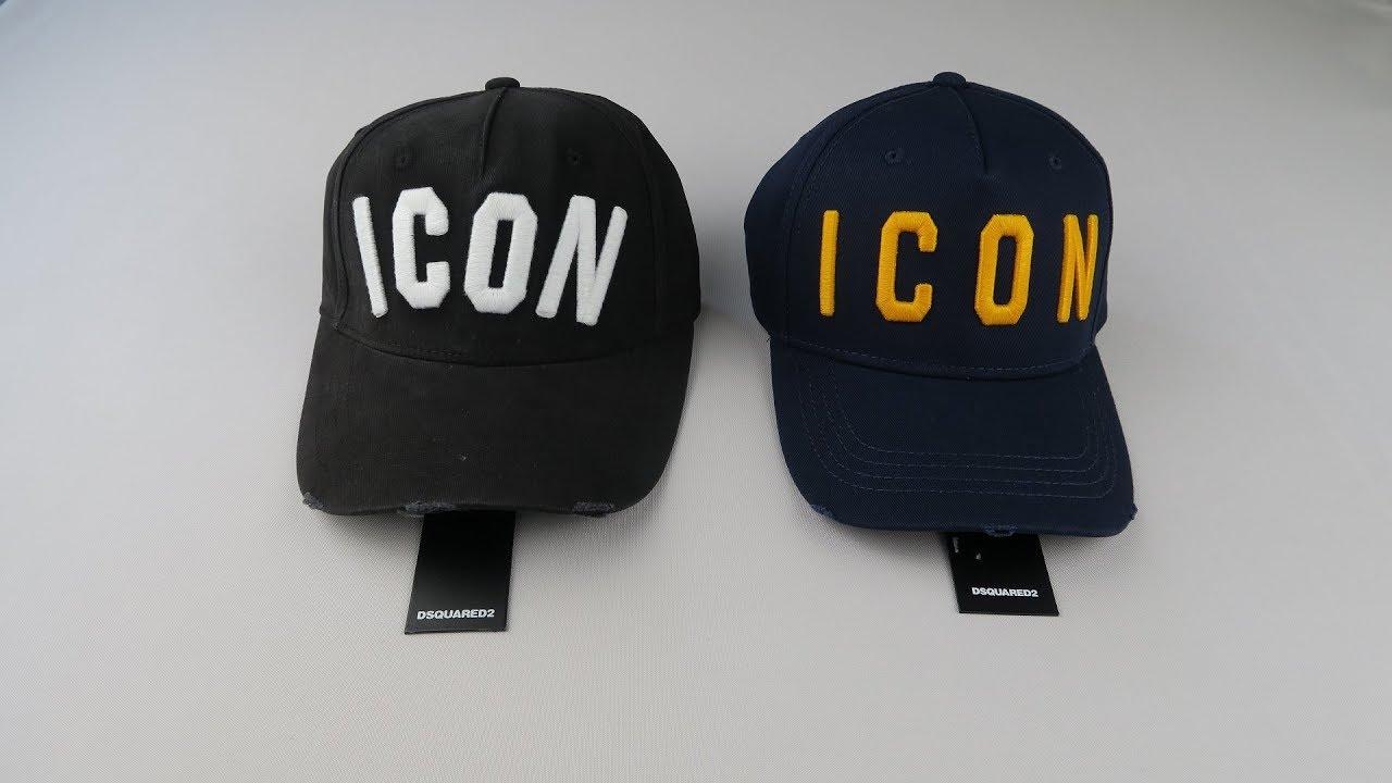 cf3e7e86163 Real vs Fake Dsquared2 Icon Cap How to spot a replica Dsquared2 cap ...